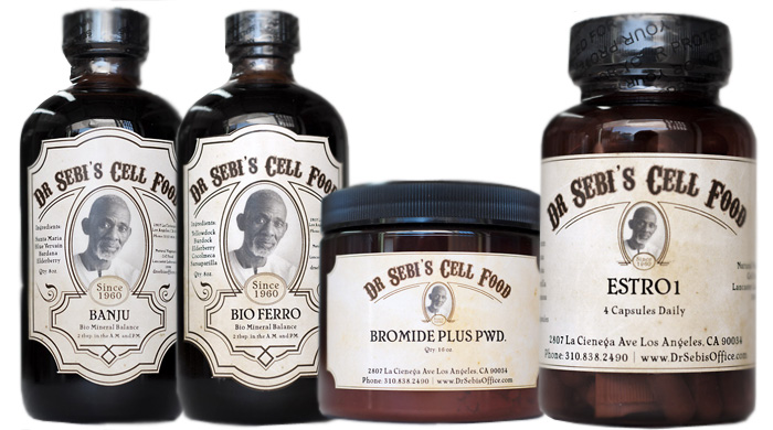 Herbs in Dr Sebi's Products