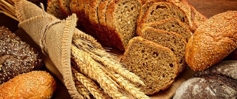 gluten products - wheat, bread, pastry
