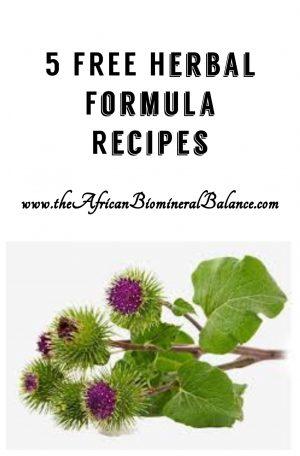 5 Free Herbal Formula - Dr Sebi Approved