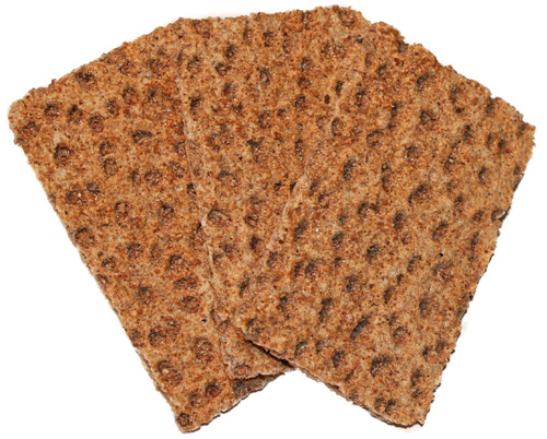 rye crackers - Dr Sebi