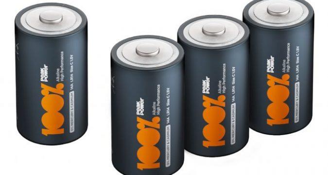 Battery alkali