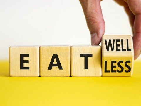 eat well, eat less